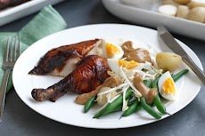 Indonesian Chicken With Gado Gado Salad