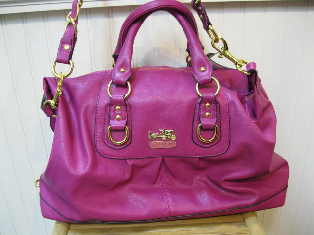 Pink Coach Handbags
