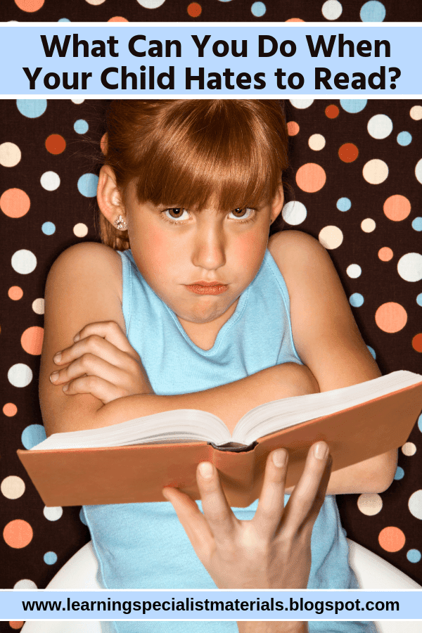 Helping students that hate reading