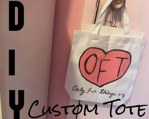 DIY Custom Tote!