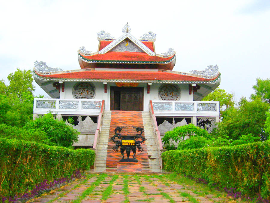 A Vietnamese Temple Bodhgaya Bihar India