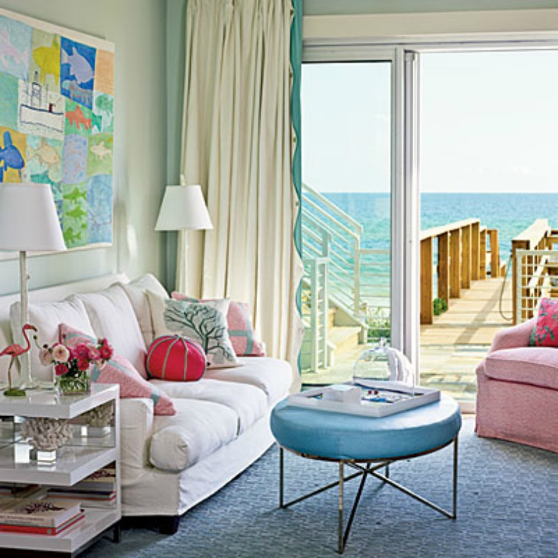Colorful Rooms With A View: Coastal Home: From The Masthead: Rooms With A View
