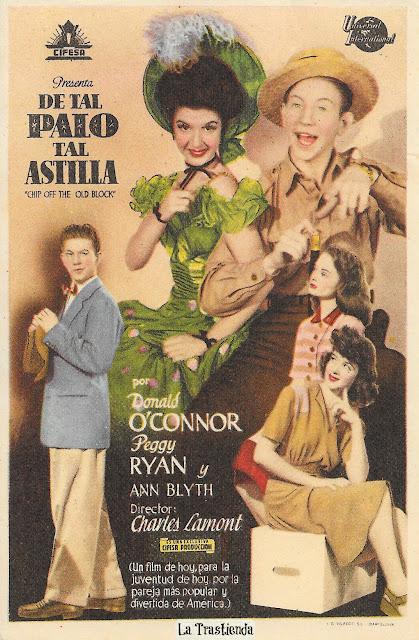 De Tal Palo Tal Astilla - Programa de Cine