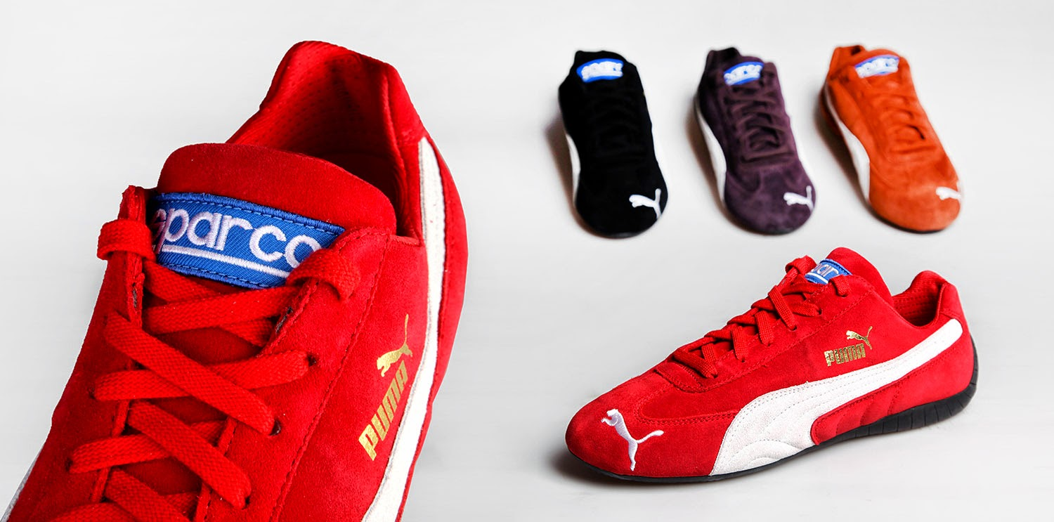 Puma celebrates Sparco with an exclusive collection of Speed Cat ... bb7e89680a