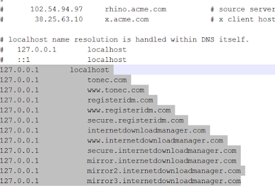 How to remove 'IDM has been registered with the fake serial number ' error? 3