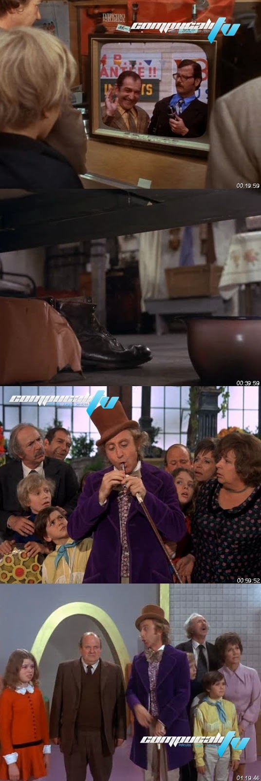 Willy Wonka y la Fábrica de Chocolate DVDRip Español Latino [1971]