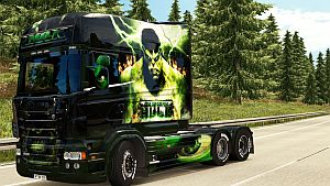 Hulk paint job for Scania RJL Longline by EviL