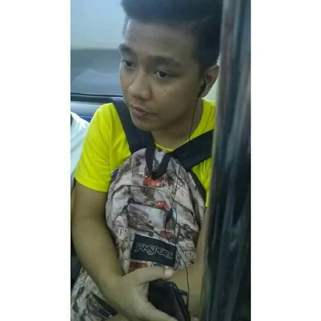 HUMILITY: MRT Guy Makes Viral Stolen Photo His Profile Picture? LOOK HERE!