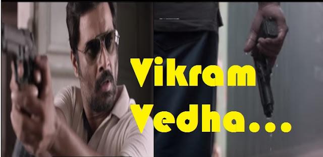 R Madhavan Vikram Vedha Tamil Movie Trailer Released | Pushkar and Gayatri