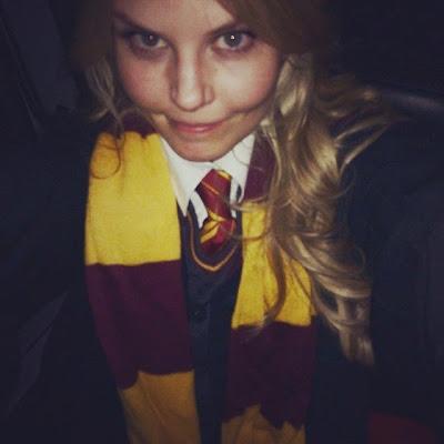 Jennifer Morrison Hermione Granger Halloween 2014