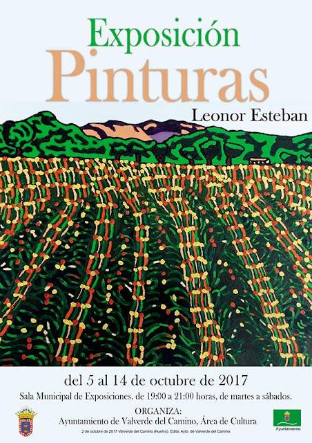 Leonor Esteban expondrá su obra en la Sala Municipal de Exposiciones