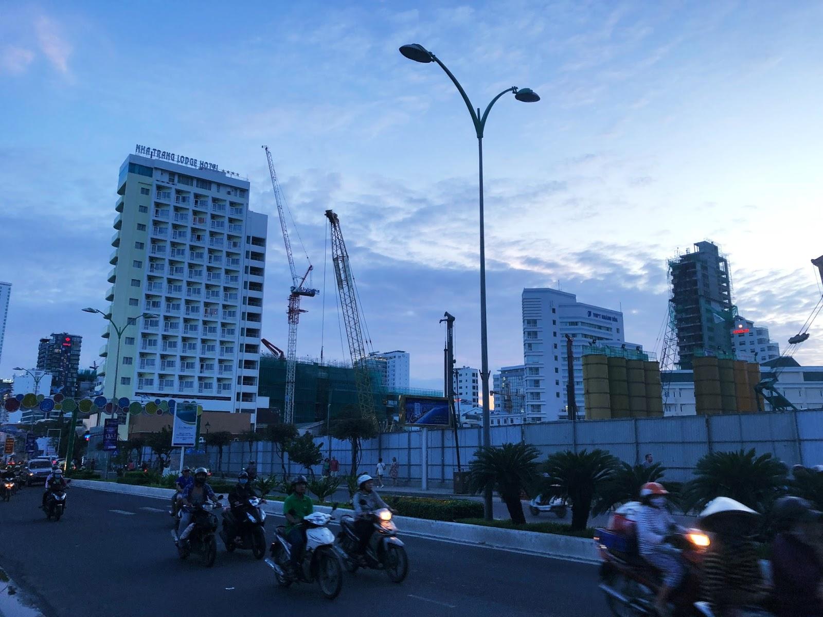 Cập nhật tiến độ thi công dự án condotel 40 Trần Phú