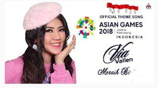 download mp3 lagu Via Vallen Meraih Bintang Asean Games 2018