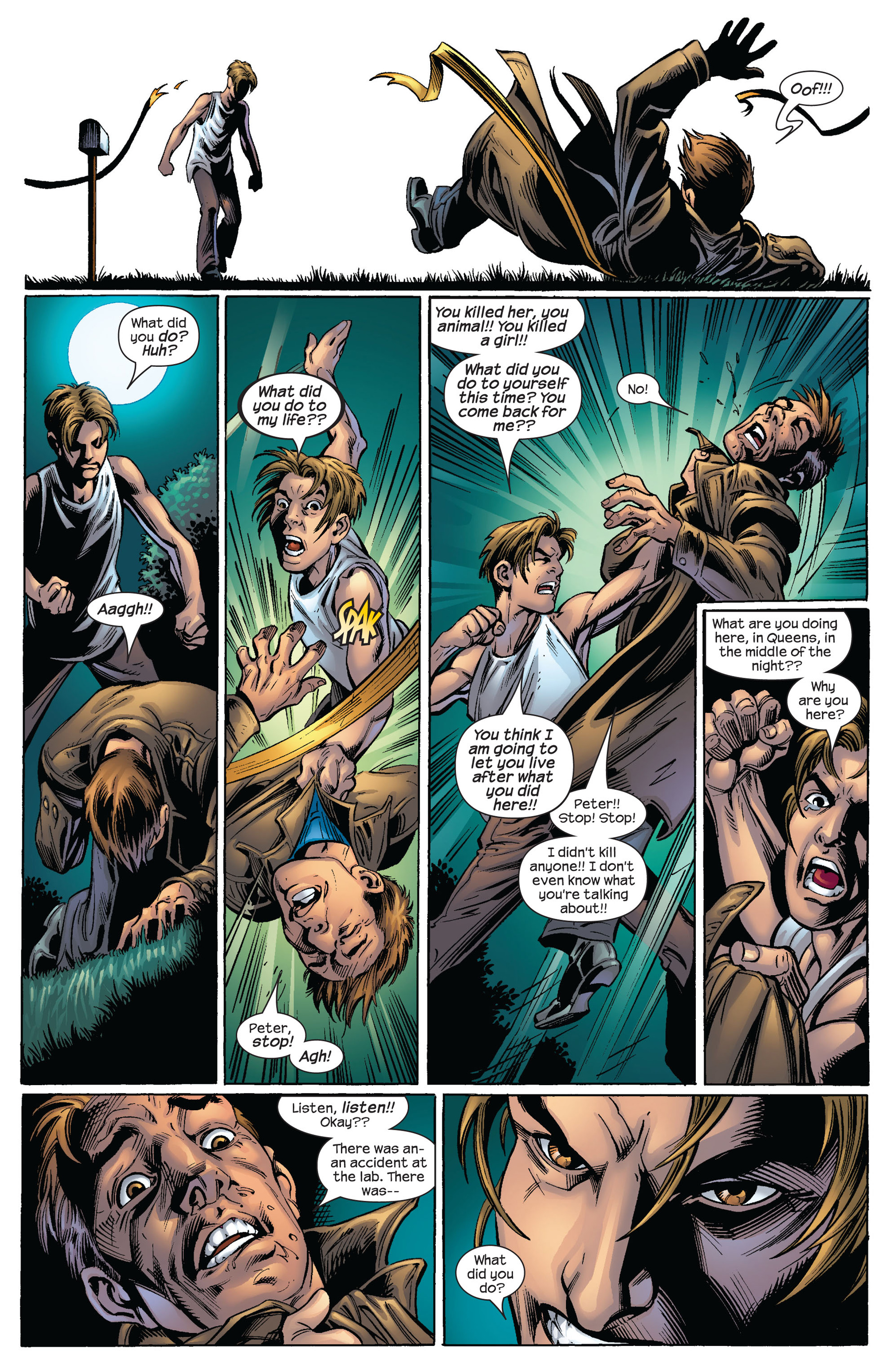 Read online Ultimate Spider-Man (2000) comic -  Issue #63 - 17