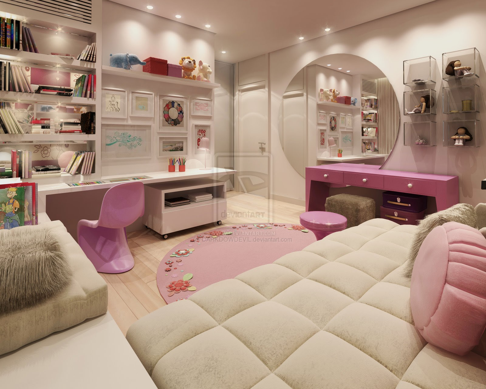 50 Awesome Bedroom Ideas: Girls And Teenage Bedroom Designs Girls And Teenage