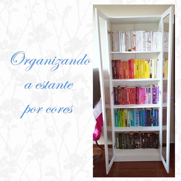 Organizando-a-estante-por-cores, dicas-para-comprar-estante-pela-internet, estante-barata, livros