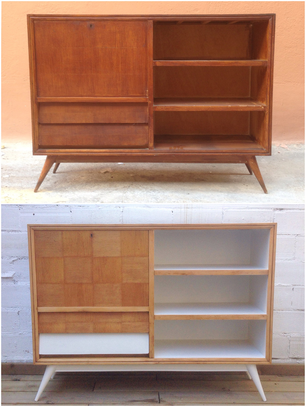 Antes y después - Cómoda - Studio Alis