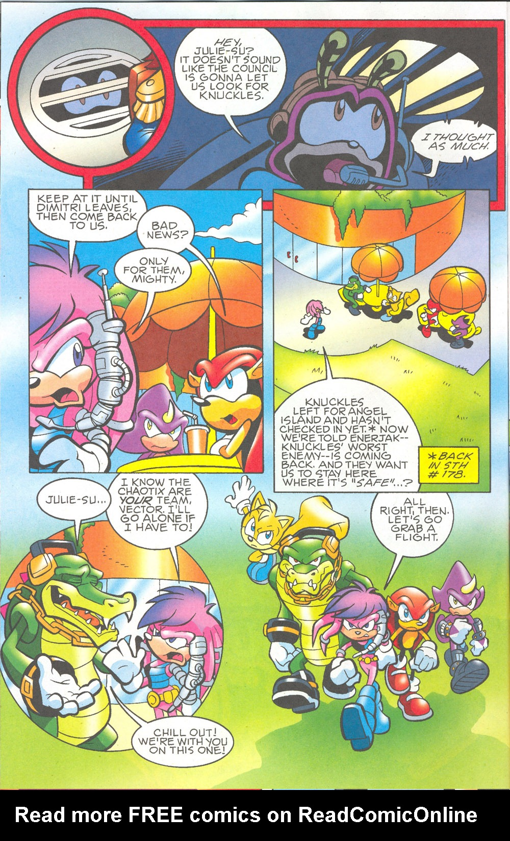 Read online Sonic The Hedgehog comic -  Issue #180 - 7