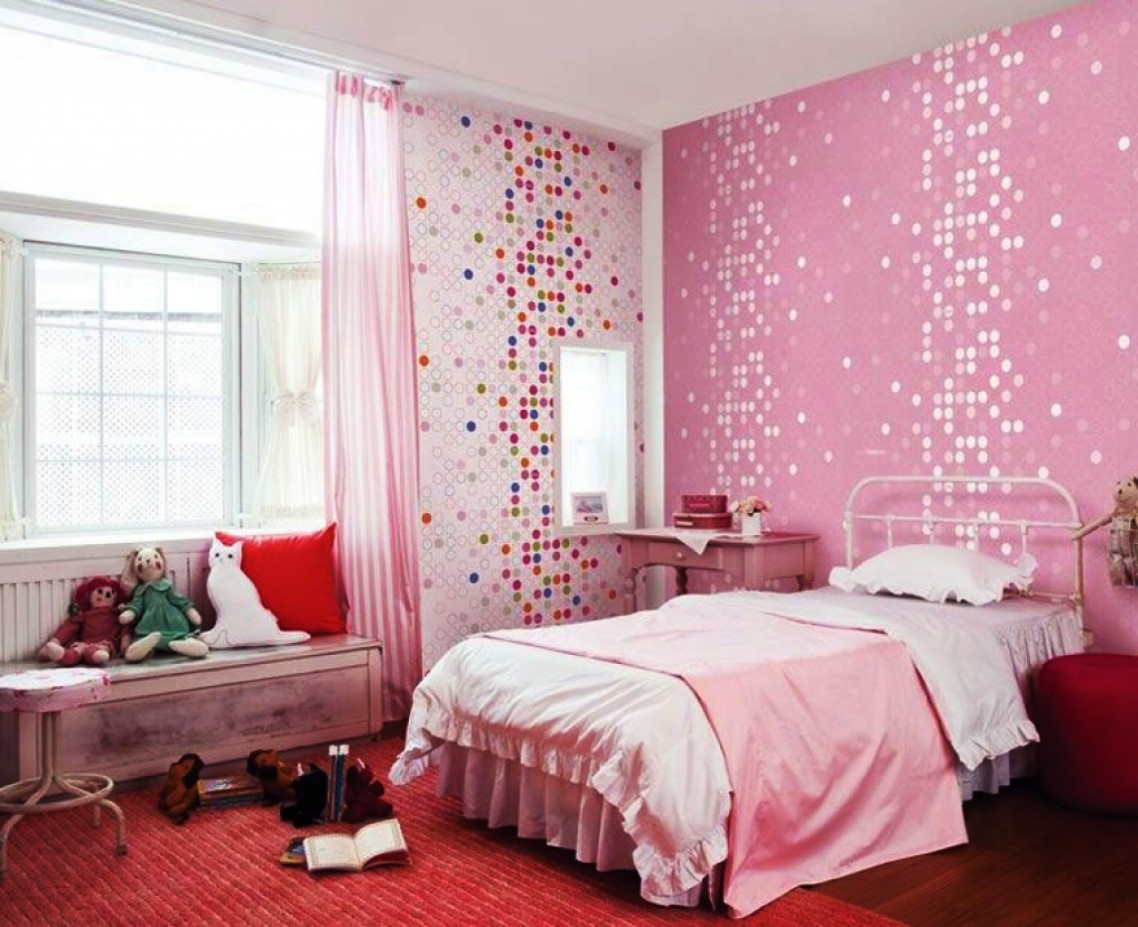 Sweet Bedroom Design Ideas For Pink Little Girl Rooms House