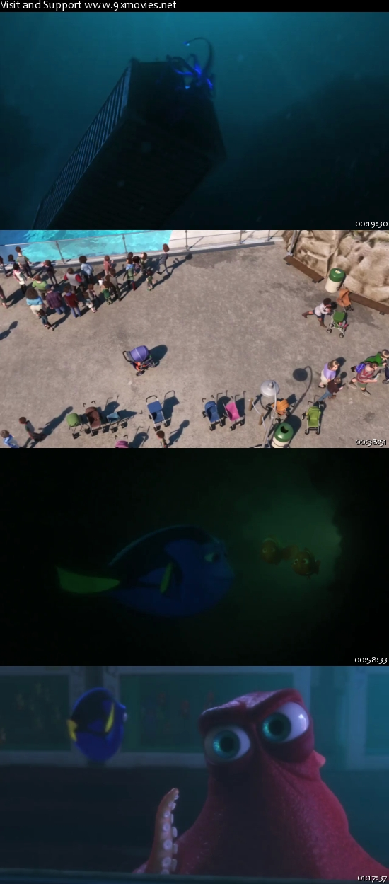 Finding Dory 2016 English 720p WEB-DL