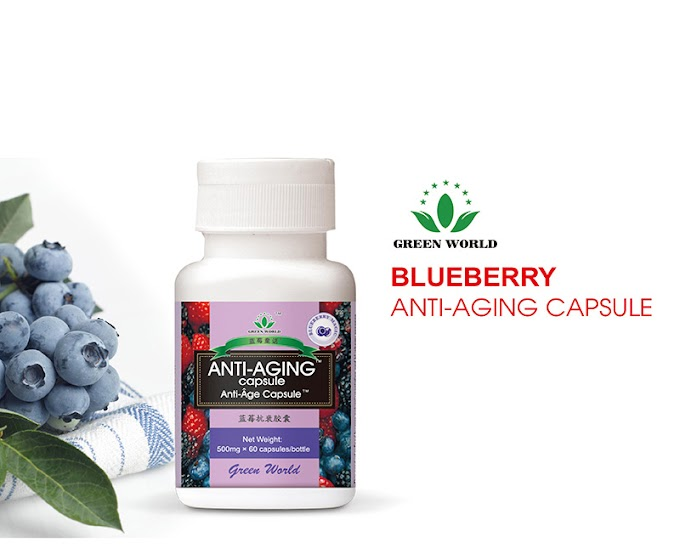 Green World Blueberry Anti-aging Capsule