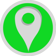 location button outline