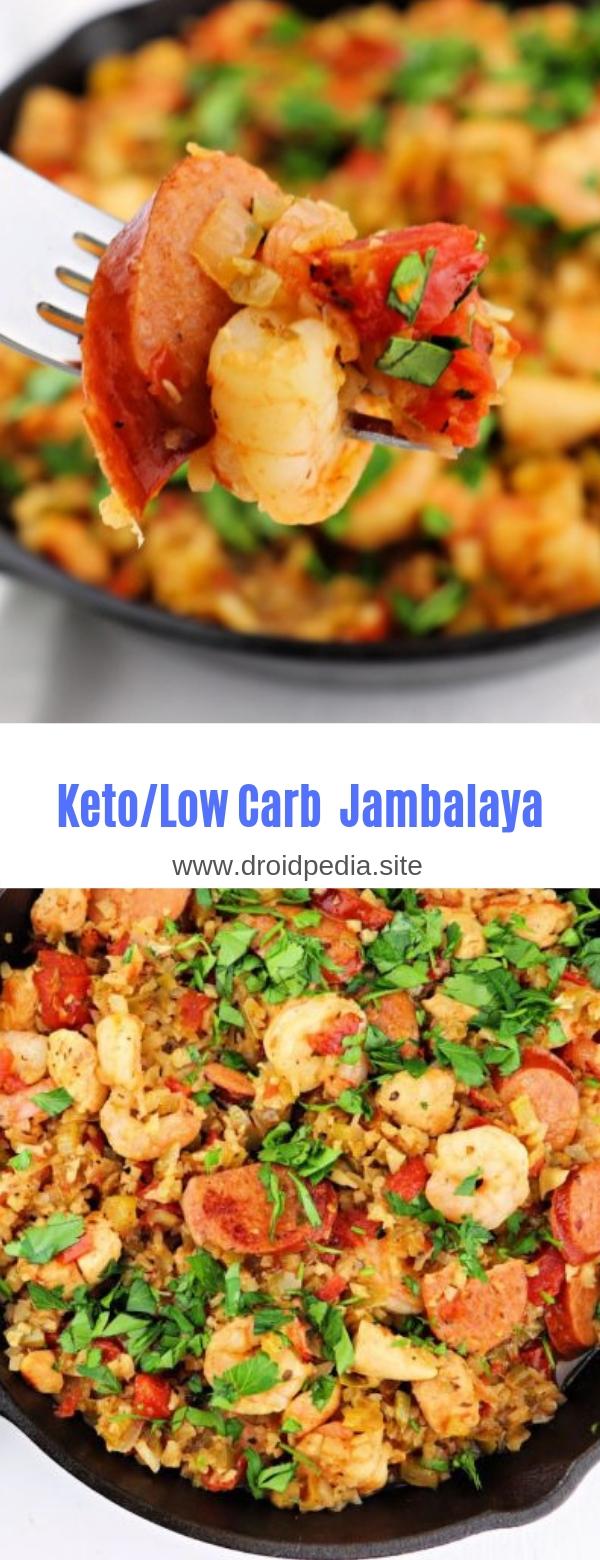 Keto/Low Carb Jambalaya