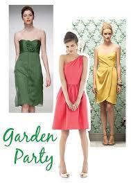 What To Wear To Garden Wedding