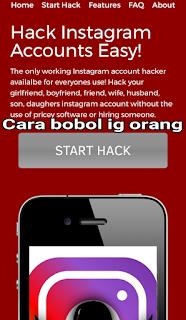 cara mengetahui password instagram orang lain melalui hp