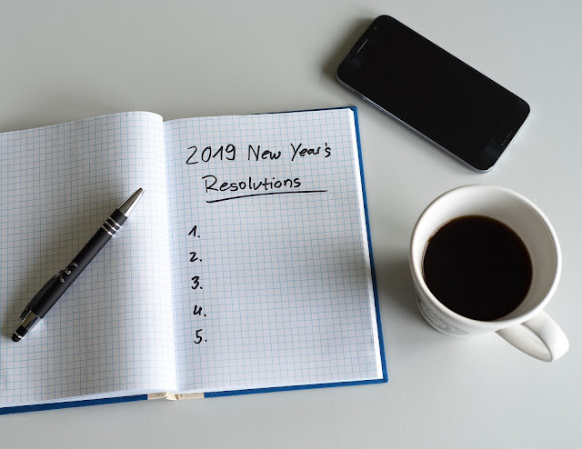 Year's resolutions 2019