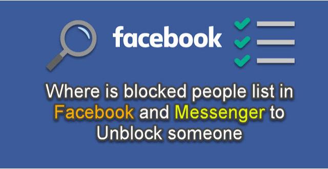 unblock Facebook friends