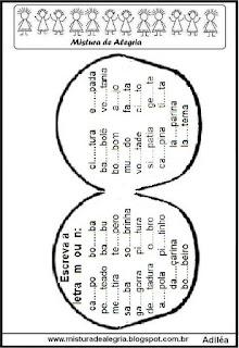 Atividade de fixação do M e N