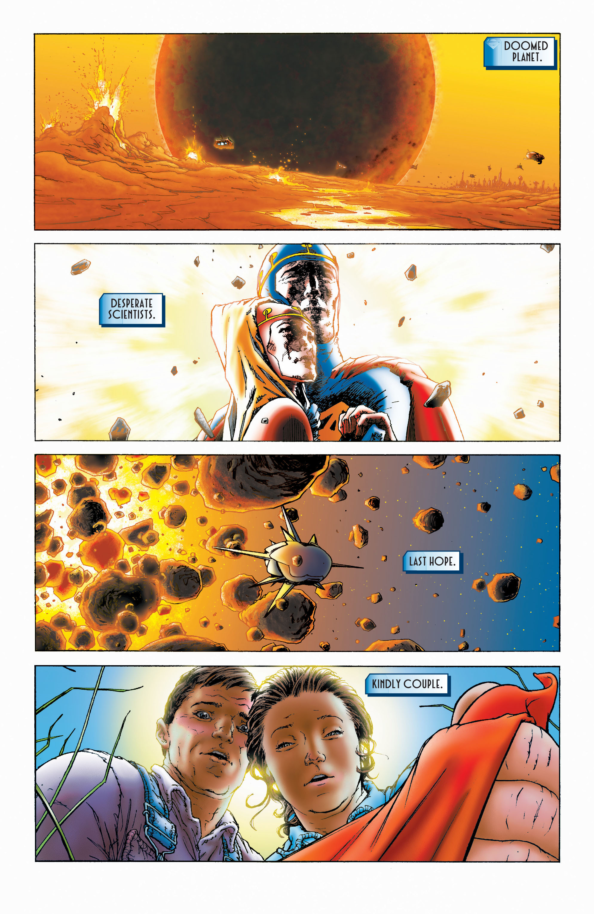 Read online All Star Superman comic -  Issue #1 - 2