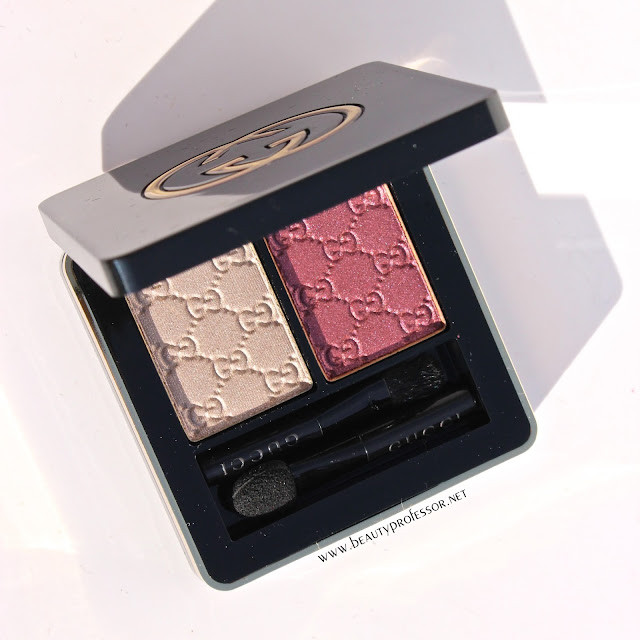 gucci eyeshadow duo primrose swatches