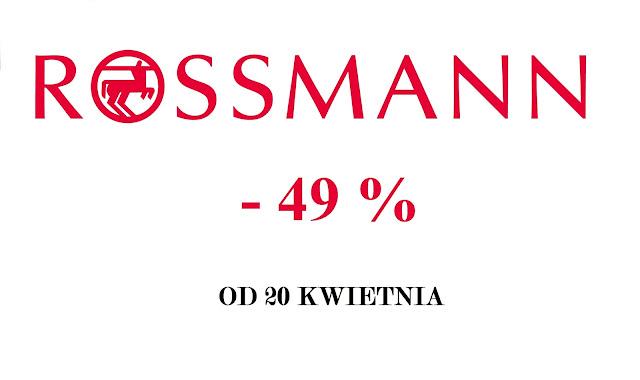 Promocja Rossmann - 49%