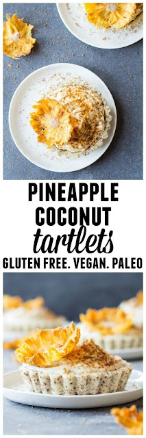 Pineapple coconut tartlets