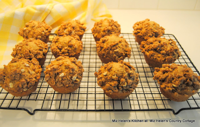 Harvest Muffins at Miz Helen's Country Cottage