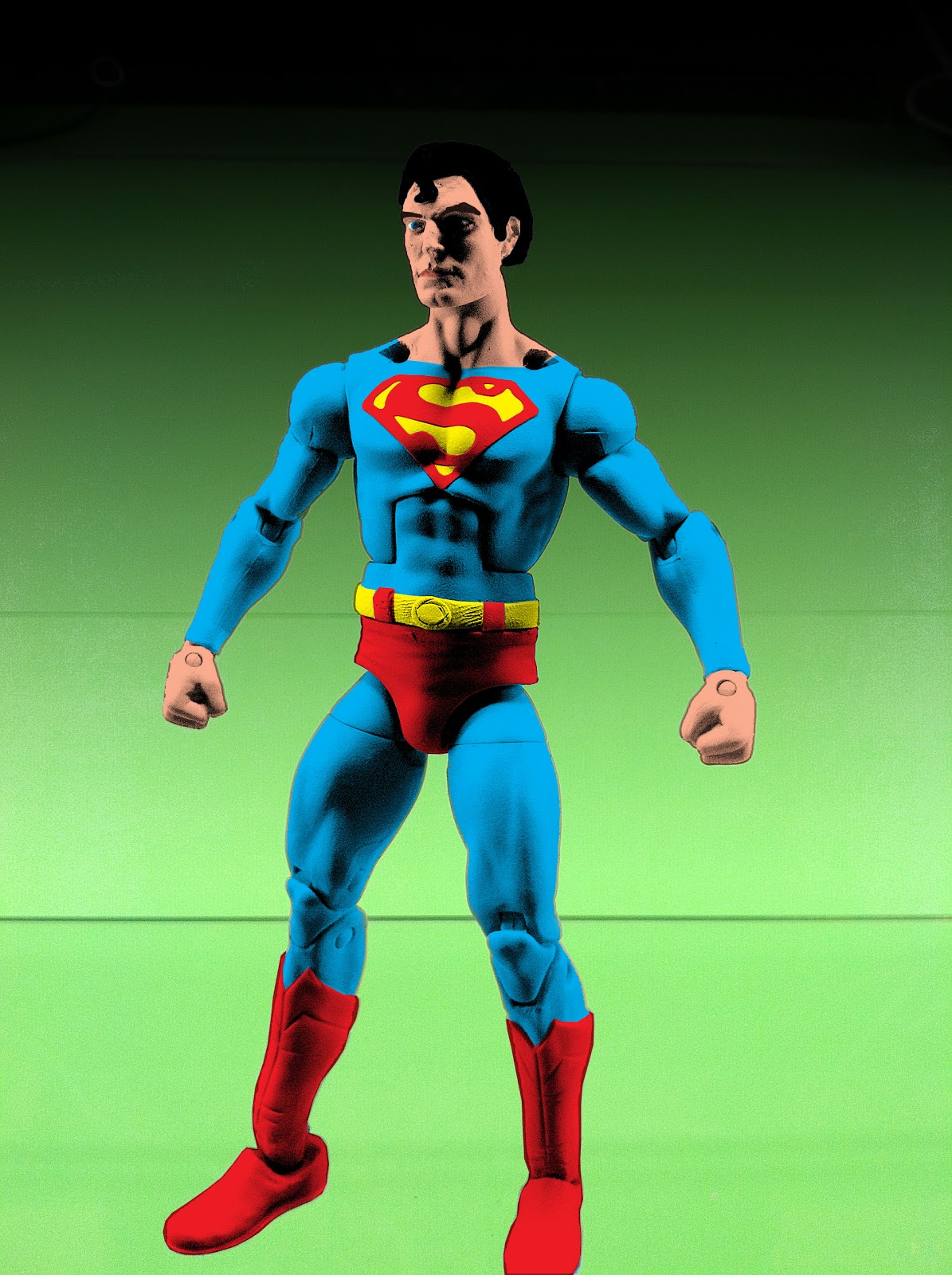 ... (Man of Steel Movie Concept) (Movie Masters) Custom Action Figure