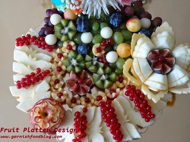 wedding fruit tray