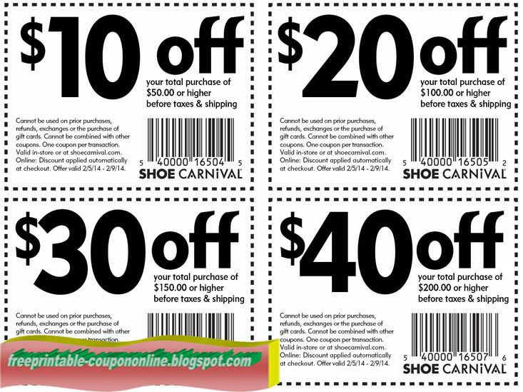 photo relating to Shoe Carnival Coupon Printable named Shoe carnival printable coupon : Superior food items in just des moines