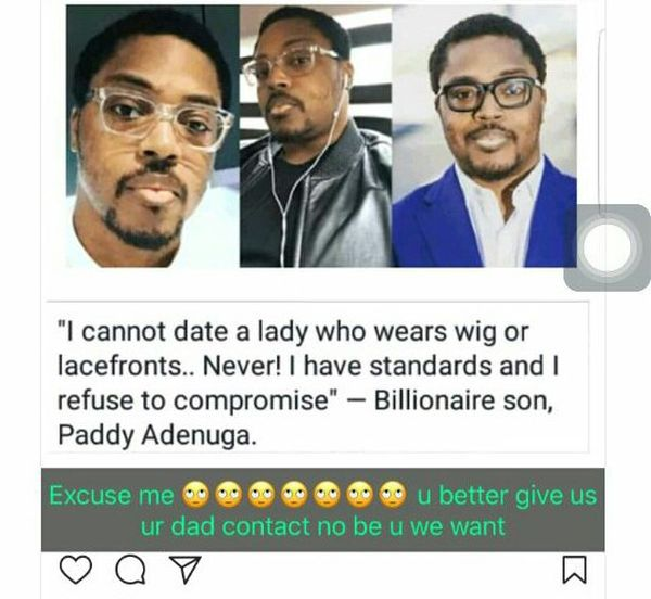 We Don't Want You, We Want Your Father – Bobrisky Tells Paddy Adenuga 6