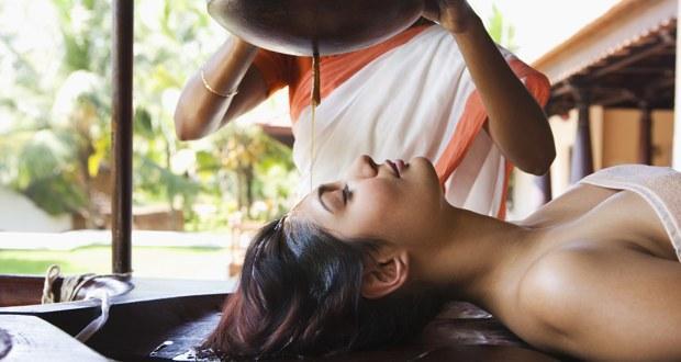 Shirodhara — an Ayurvedic technique to help beat stress