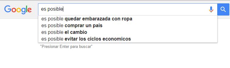 sugerencias de google graciosas