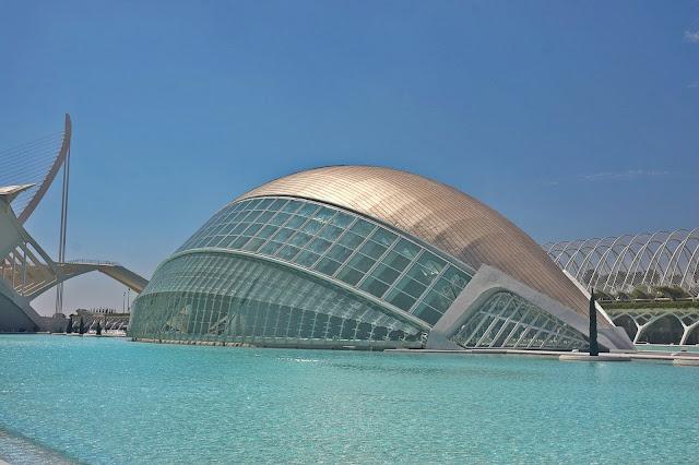 co zobaczyć miasteczko Sztuki i Nauki, Walencja Hiszpania