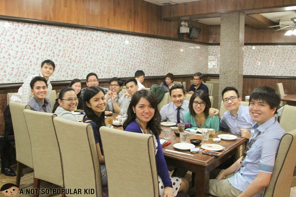 Planting seeds of memories - A Not-So-Popular Kid with SGV colleagues