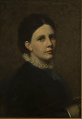 Autoportrait (1880), Sofie Ribbing