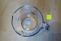oben: Messbecher 1L Messkanne Rührschüssel Dosierhilfe Messkrug Glas Liter Pint