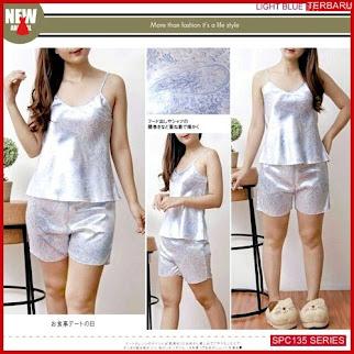 SPC135L58 Light Blue 9022 Pajamas Baju Tidur Wanita | BMGShop