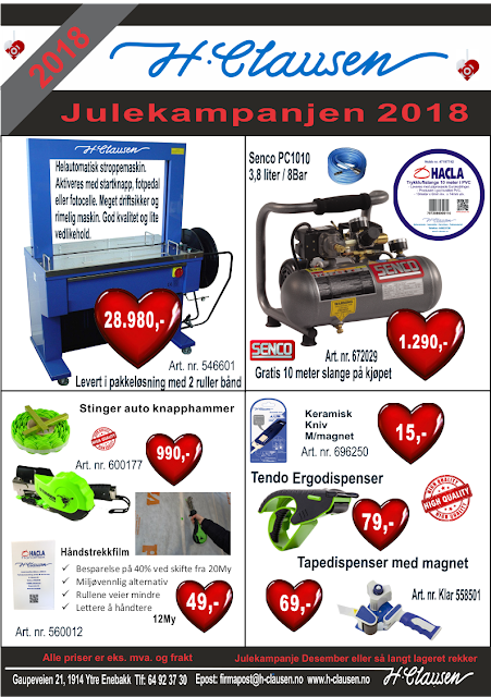 H. Clausen AS Kampanje Julen 2018
