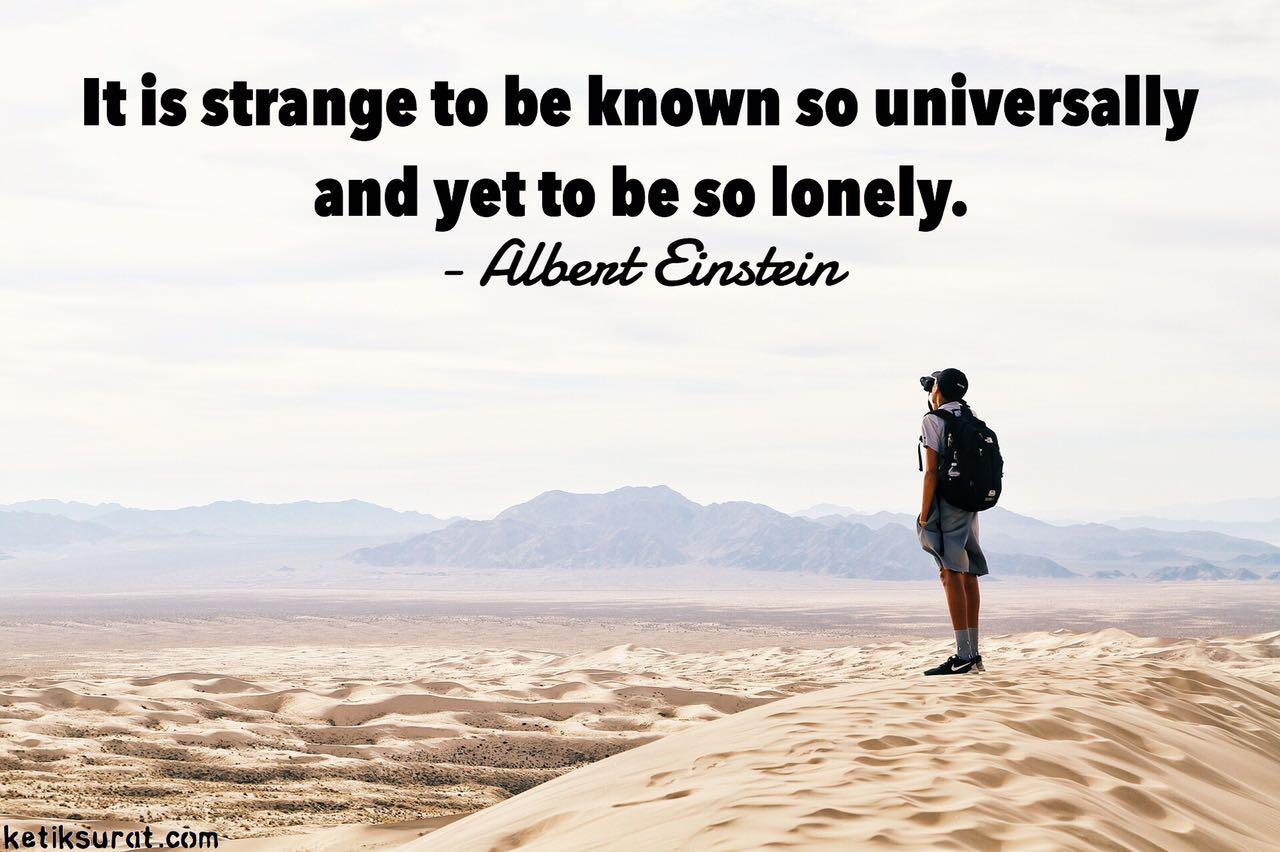 quotes bahasa inggris about alone dan artinya ketik surat